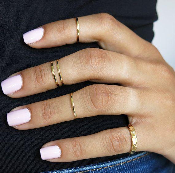 Single line ring set