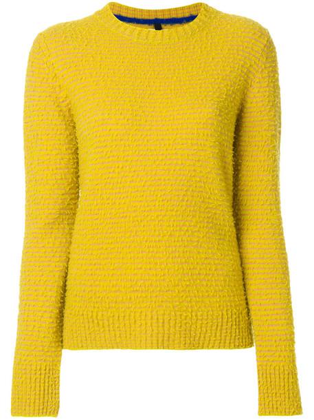 Santoni sweater women classic yellow orange