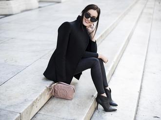 anouska proetta brandon blogger gucci bag black coat