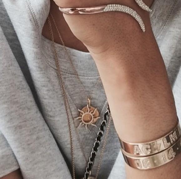 disney jewels necklace sun rose gold Rapunzel tangled pendant