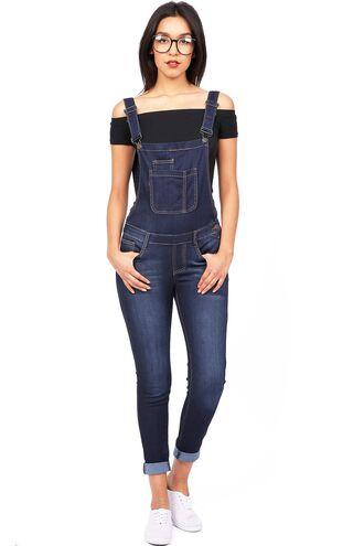jumpsuit denim blue overalls