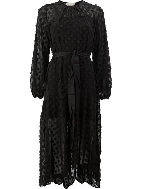 dress sheer women spandex black silk