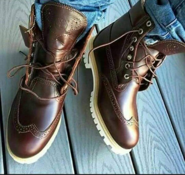 Shoes: timberland, boots, timberlands boots, mens shoes ...