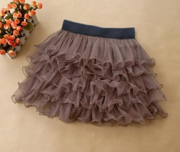 RM T23 Women Tutu Tulle Tiered 5 Layer Waist Mini Short Skirt Pettiskirt | eBay