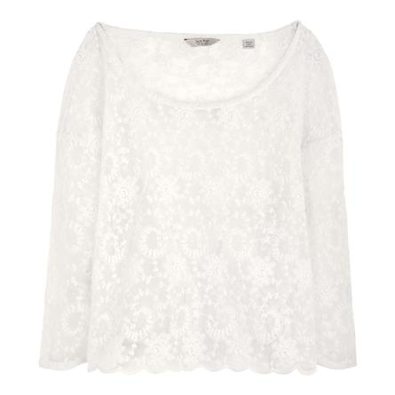 The rickford lace tee