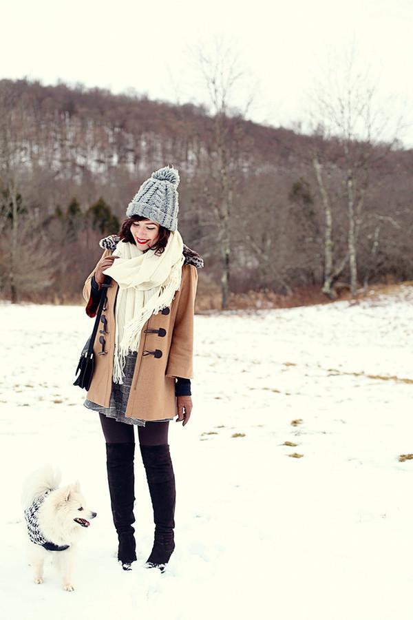 keiko lynn coat skirt scarf bag shoes hat