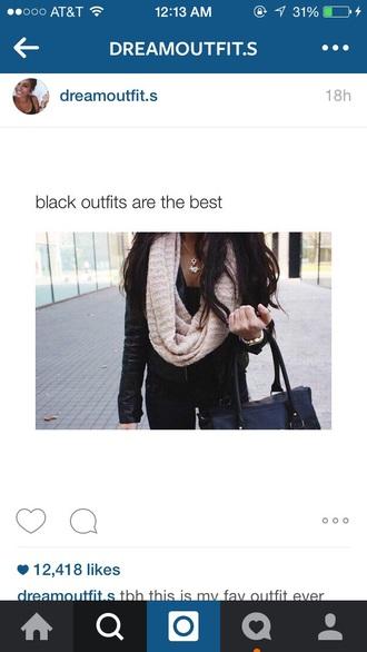 scarf tan loose