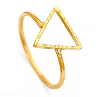 jewels rings and tings rings and jewelry triangle minimalist jewelry