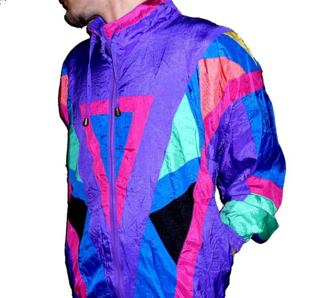 Jacket: windbreaker vintage windbreaker retro 90s style
