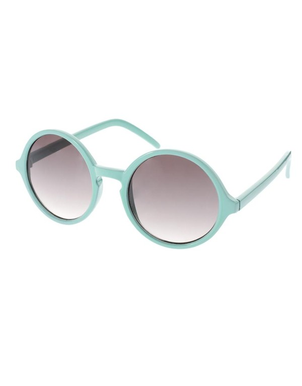 sunglasses mint bright summer