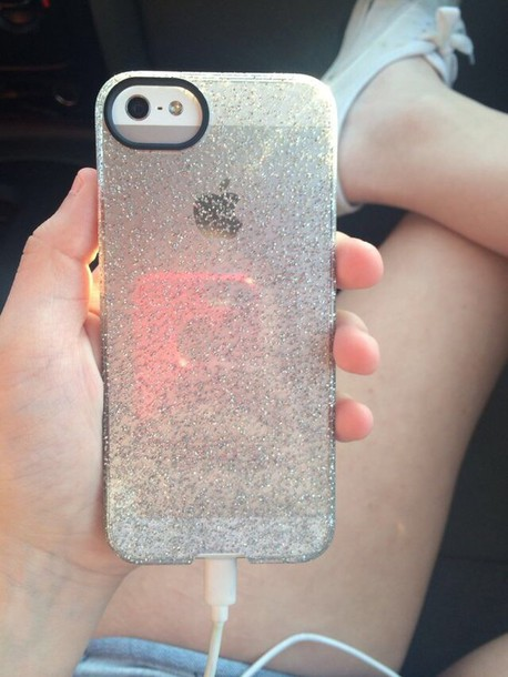 Iphone 5 Cases Clear Clear Glitter Iphone 5