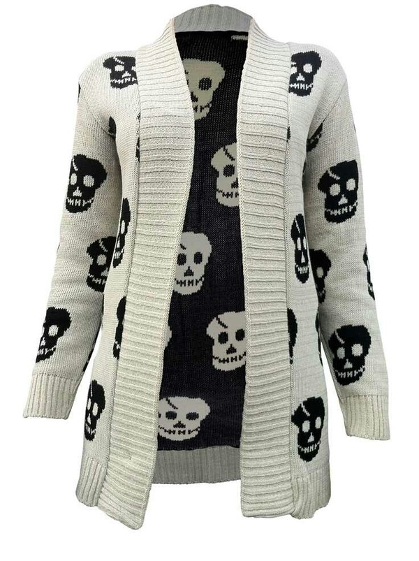 sweater skull edgy edgy scene emo scene