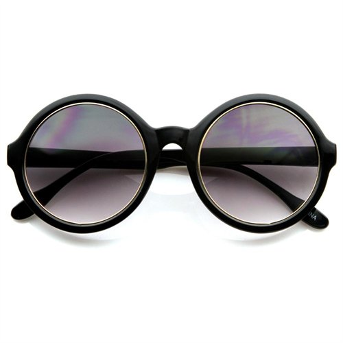 Rakuten.com:Zero UV|Retro Inspired Fashion Oversized Round Circle Sunglasses|Uncategorized
