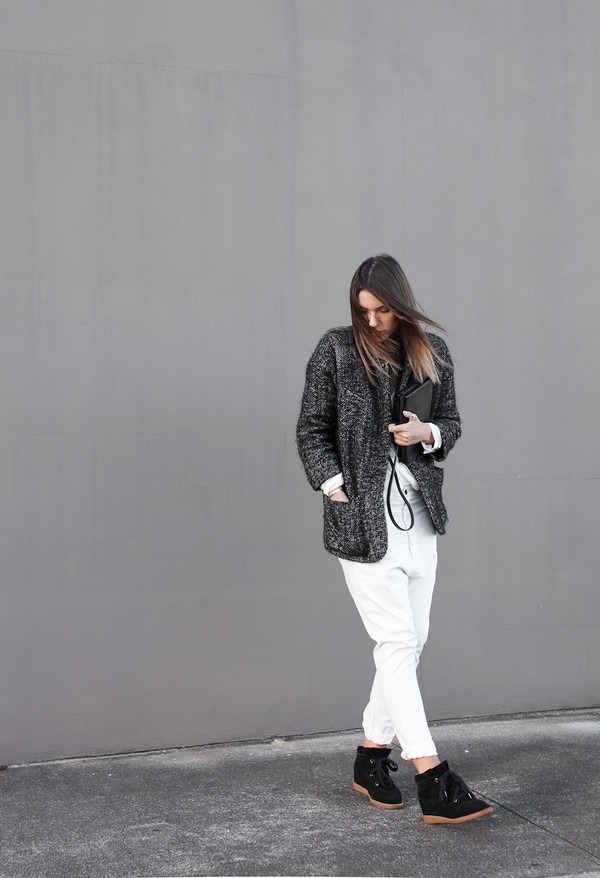 modern legacy coat shirt pants shoes bag jewels
