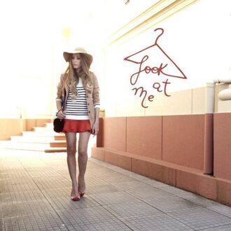 fashion coolture hat bag jacket sweater coat skirt t-shirt shoes