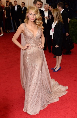 dress long dress blake lively dress blake lively champagne dress prom dress nude dress long prom dress prom gown