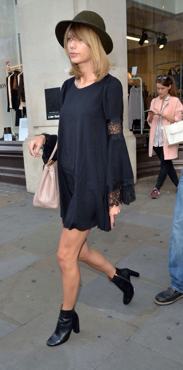 taylor swift fall outfits dress