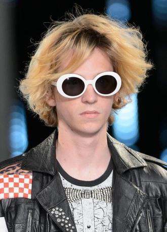 sunglasses oval sunglasses round sunglasses glasses sunnies white white sunglasses accessories accessory 90s style 90s grunge
