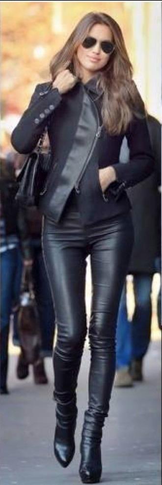 jacket black jacket leather jacket winter outfits winter jacket black black leather jacket asymmetrical asymetrical jacket