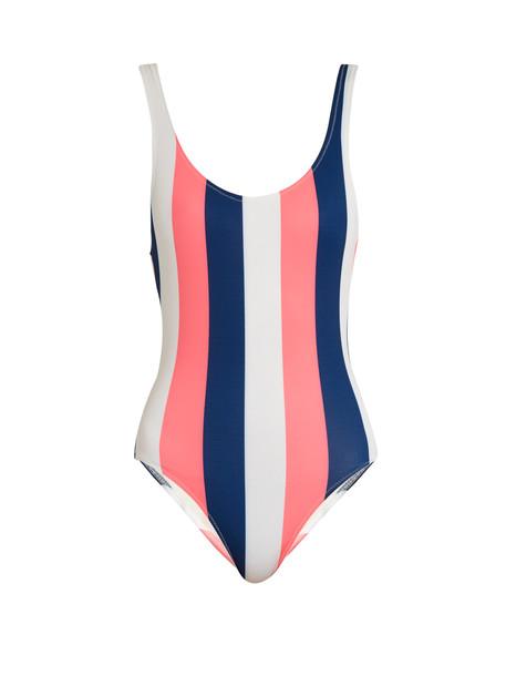 Solid & Striped navy swimwear