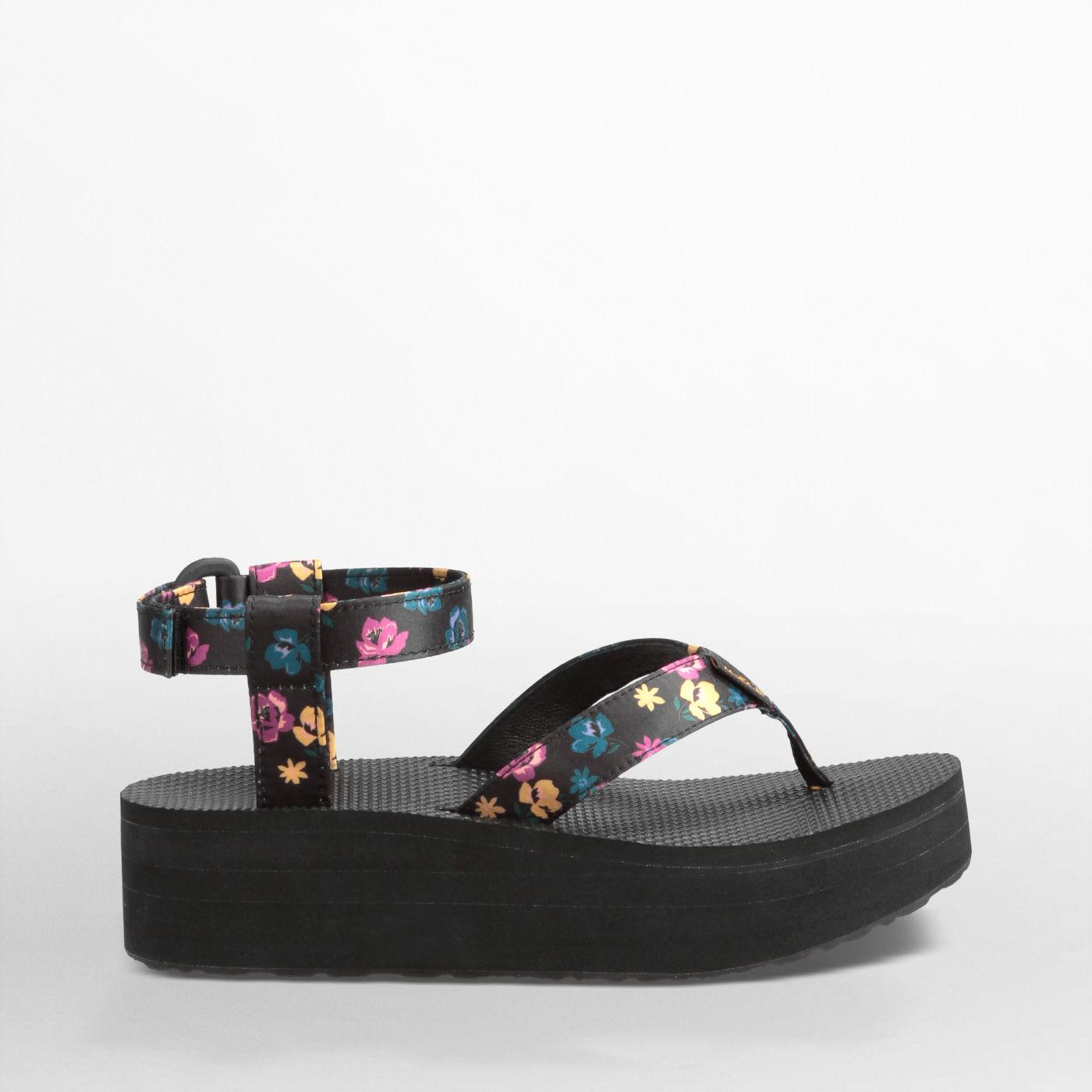 Teva® Flatform Sandalen Nl® DamesTeva Voor Floral Sandal 3lKcJTF1