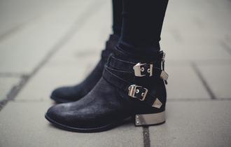 shoes metal heel boots