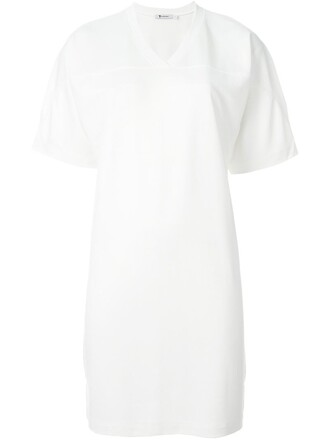 t-shirt shirt long football white top