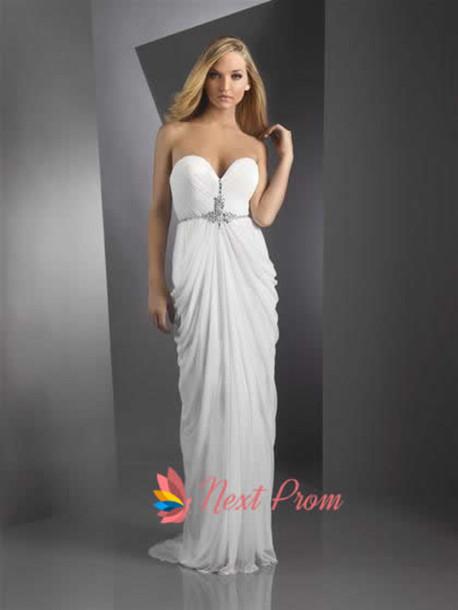 dress grecian prom dress
