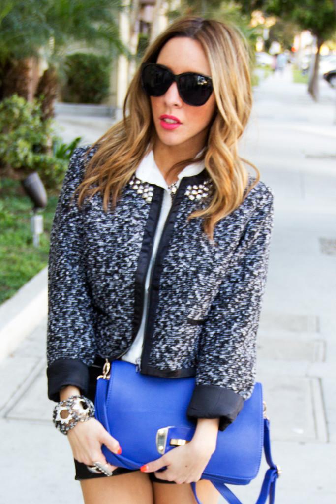 Rococo contrast jacket | haute & rebellious