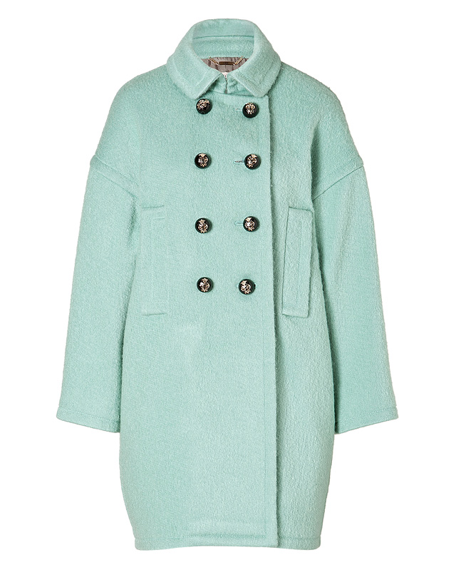 Coat in Menta from EMILIO PUCCI | Luxury fashion online | STYLEBOP.com