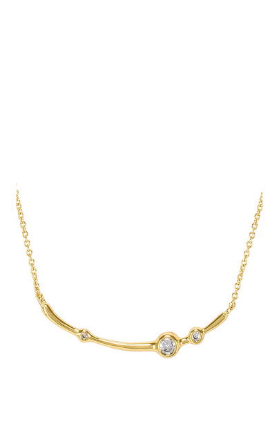 gorjana Josslyn Necklace in gold / metallic