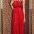Maxi 7096 Red Black Harness Dress, Maxi Dress, Prom Dress, Wedding Dress, Harness   by VIPA