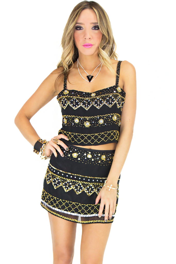 VENICE BEADED TOP | Haute & Rebellious