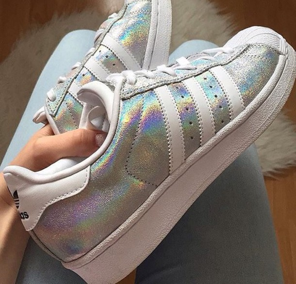 adidas superstar iridescent uk