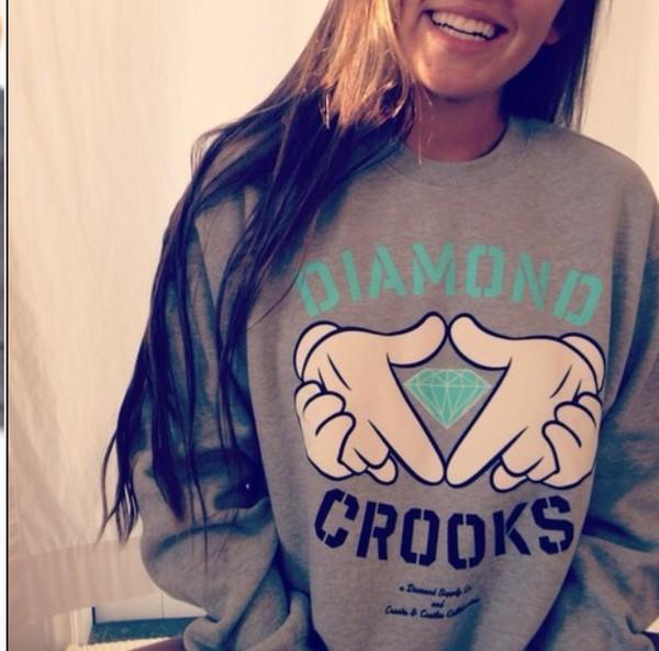 sweater diamond and crooks mashup