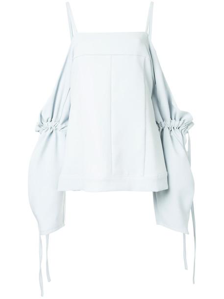 Strateas Carlucci blouse women grey top
