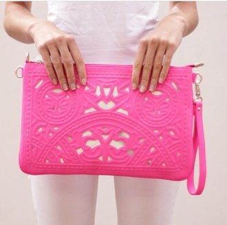 bag purse style hot pink accessories pattern styles pink bag texture