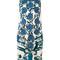 Roberto cavalli - rose print shift dress - women - viscose - 40, white, viscose