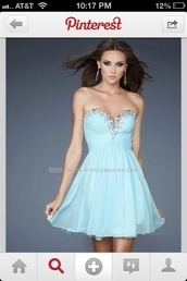 dress,clothes,homecoming,beading,blue