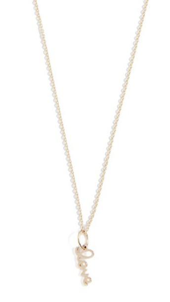 sydney evan love necklace gold jewels