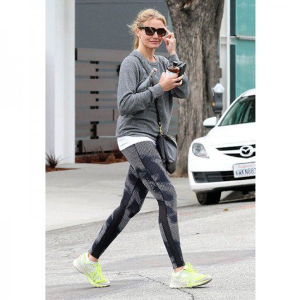 Celebrities Love...Leather Jogging Pants - Red Carpet ...