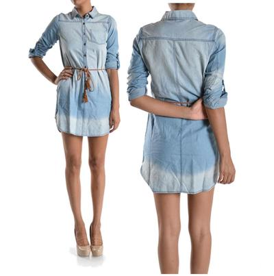 Denim shirt dress · trendyish · online store powered by storenvy