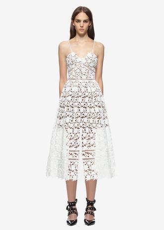 dress lace dress white lace dress