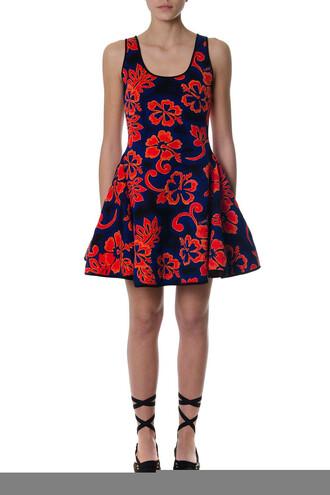 dress floral cotton