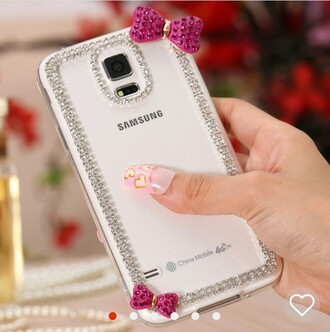 phone cover samsung galaxy cases diamonds rhinestones bows
