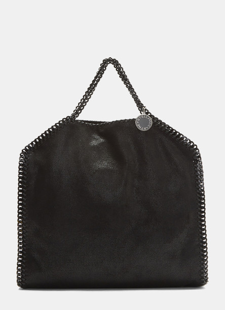 Stella McCartney Small Falabella Chain Tote Bag in Black size One Size