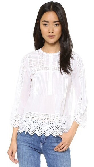 top lace top long sea lace