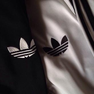 sweater white pale adidas jacket