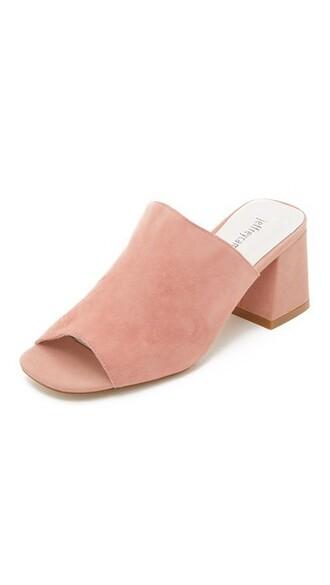 pastel mules pink pastel pink shoes