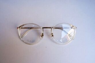 sunglasses clear plastic glasses readers jewels vintage gold eyewear eye glasses clear glasses hipster nerd glasses